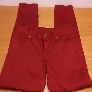 Buffalo David Bitton Maroon Jeans Size 28